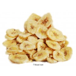 Chipsy bananowe suszone dla papug 500g