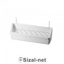 2GR Karmidło  art.25G białe z drutami